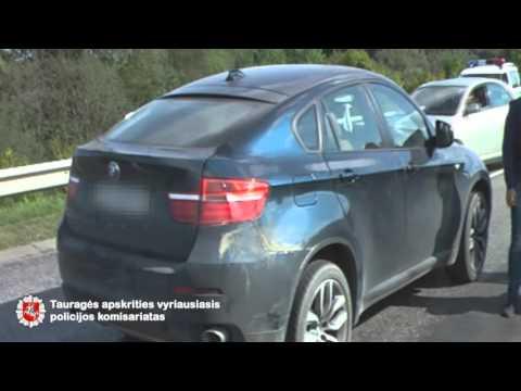 Tauragės pareigūnams įkliuvo jaunuolis su vogtu automobiliu
