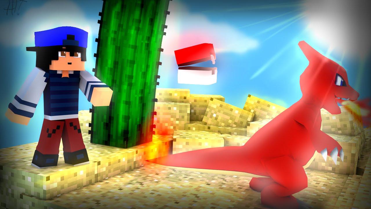 Minecraft mods: pixelmon mod.