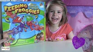 Feeding Froggies | Murmelfressende Frösche | Actionspiel