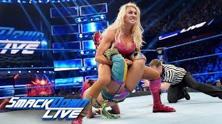 Asuka vs Charlotte Flair - SmackDown Women39s Championship Match SmackDown LIVE March 26 2019