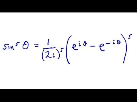 How to prove a Trig Identity using Eulers Formula