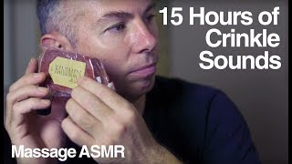 ASMR 15 Hours of Crinkle Sounds to Help Sleep or Study