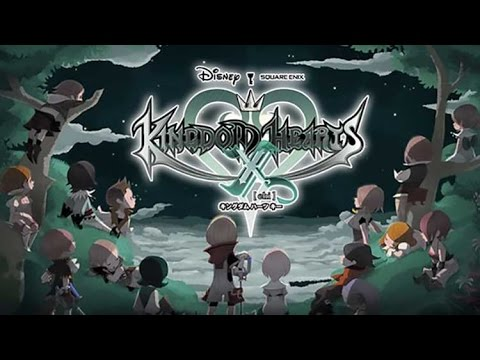 KINGDOM HEARTS UNCHAINED CHI X - Gameplay Trailer - iOS / Android