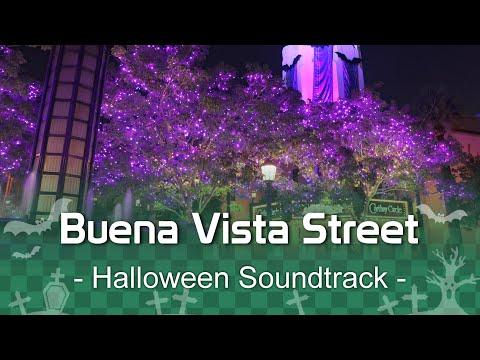 🎃Buena Vista Street - Halloween Soundtrack | At Disney California Adventure!