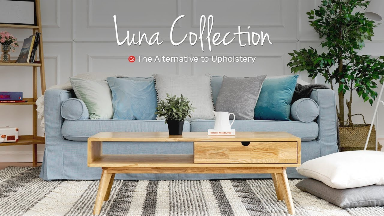 Luna: Linen Blend Collection for Loose Fit Sofa covers | Comfort Works Sofa  Covers
