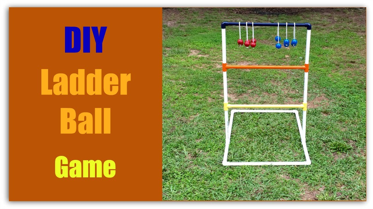 Diy ladder ball game youtube diy ladder ball game solutioingenieria Images
