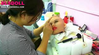 ELS DOLL Factory Video # Real Sex Doll Love Doll  Professional Manufacturer