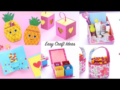 6-easy-craft-ideas-|-craft-ideas-|-diy-crafts