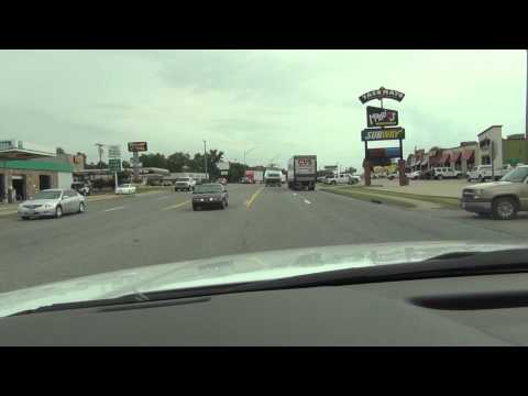 Driving through Atoka, Oklahoma POV
