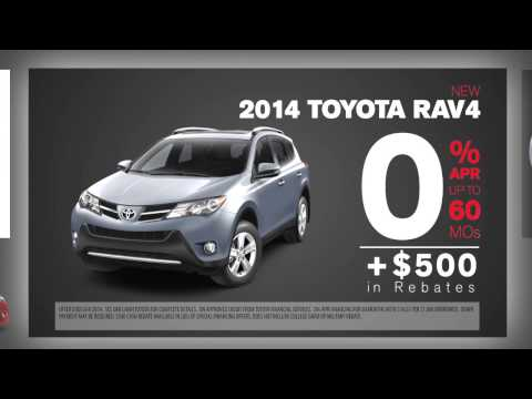 Oak Lawn Toyota Rebates and Incentives - July 2014