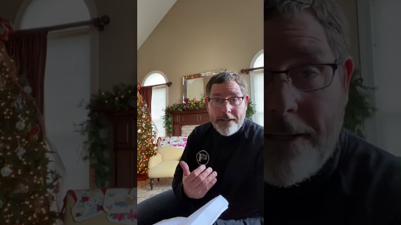 Video Message from Pastor Rit 12/31