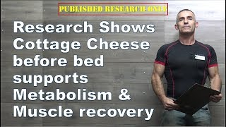 New research shows cottage cheese before bed supports metabolism and muscle recovery