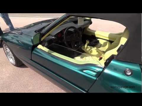 BMW Z1 Doors Open Close