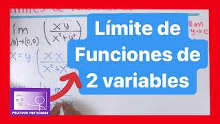 Limite de funciones de dos variables | Calculo multivariable