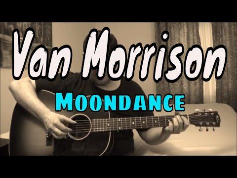 Van Morrison - Moondance - Fingerpicking Guitar Cover