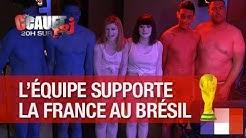 L'équipe supporte la France en se transformant en drapeau tricolore ! - C'Cauet sur NRJ