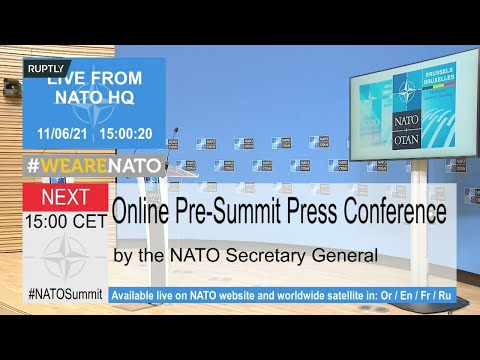 LIVE: Stoltenberg briefs media ahead of NATO Summit