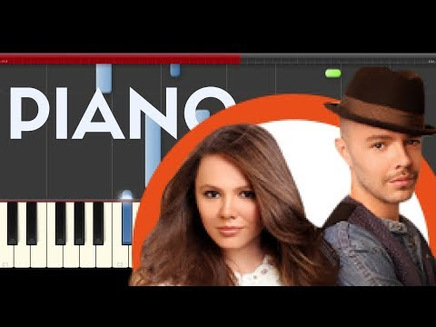 Jesse y Joy Corre piano EASY midi tutorial sheet partitura cover app karaoke