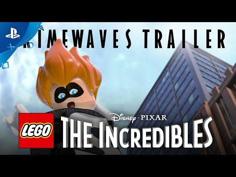 EGO The Incredibles - Crimewaves Gameplay Trailer | PS4