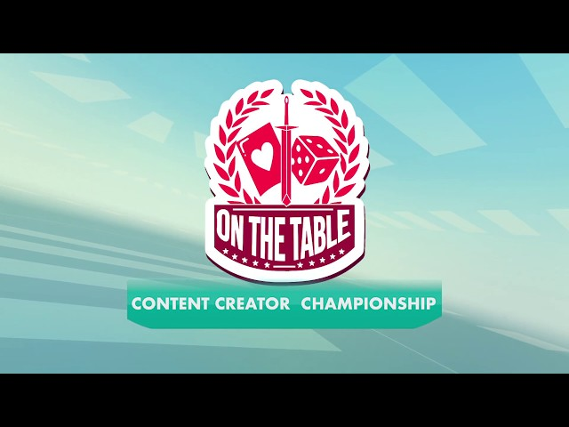 On the Table Gaming Content Creator Championship