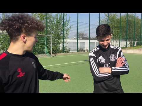 ZAKI VS MERT   Fussball Challenge   (EXTREM)