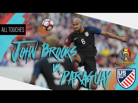 John Brooks vs Paraguay ● All Touches ● US Soccer Soul | HD