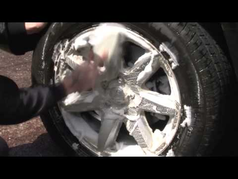 How to clean your Wheels & Tyres