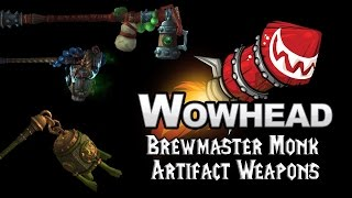 Brewmaster Monk Artifact Weapons - Fu Zan, the Wanderer's Companion
