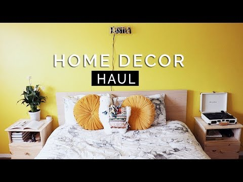 HOME DECOR HAUL || Urban Outfitters, TJ Maxx & More!