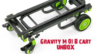 The Gravity M 01 B Multi Functional Trolley, a quick unbox and review