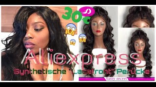 """Aliexpress Synthetische """"Lace Front Wig"""" Perücke """"Sassy"""" 