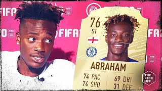 Tammy Abraham reacts to his FIFA 20 Rating! Video