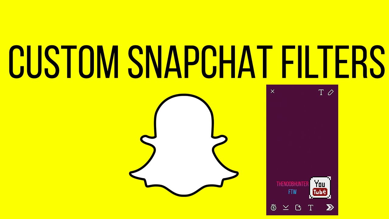 How To Get Custom Snapchat Filters (ios) (latest Snapchat Working!!!)