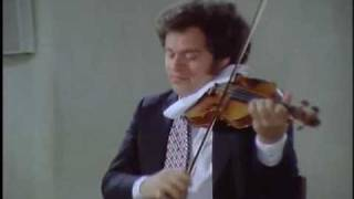 Itzhak Perlman- partita 2/2 in E major- J S Bach