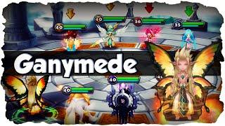 SUMMONERS WAR: Ganymede in der Arena - Der Wind Fairy King - Review + Runen! (Deutsch / German)