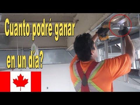 Como es mi trabajo en Canada en construccion/verano 2018