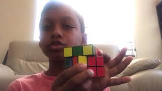 How to solve a rubik's cube - by Ronit
