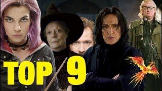TOP 9 der MÄCHTIGSTEN Mitglieder des Orden des Phönix 🔥
