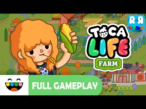 Toca Life: Farm (By Toca Boca AB) – iOS / Android – New Best Apps for Kids