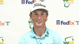 Will Zalatoris Wednesday Press Conference 2021 Waste Management Phoenix Open