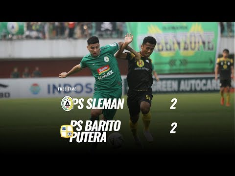 [Pekan 11] Cuplikan Pertandingan PS Sleman vs PS Barito Putera, 27 Juli 2019
