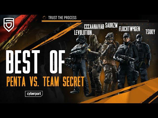 Best of GSA League 2021   PENTA vs. Team Secret   Rainbow Six Siege   #ThisisPENTA