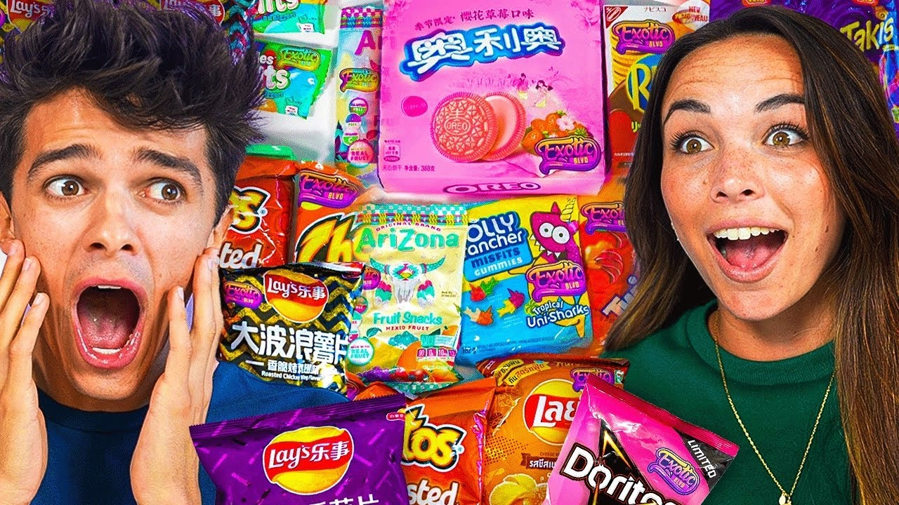 Download We Tried EXOTIC SNACKS For The FIRST TIME!