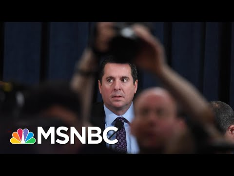 Nunes Questions Laid Bare As Trump Ear Obfuscation Lifts On U.S. Intel About Russia | Rachel Maddow