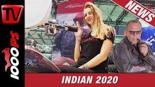 Indian Challenger First Look - Häuptling Zonko nimmt die 2020er Modelle unter die Lupe