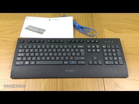 Logitech Comfort K290 USB Keyboard Unboxing