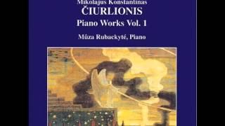 MŪZA Rubackytė. M.K.ČIURLIONIS: Piano Works, Vol. 1 - 11 - Prelude VL 187