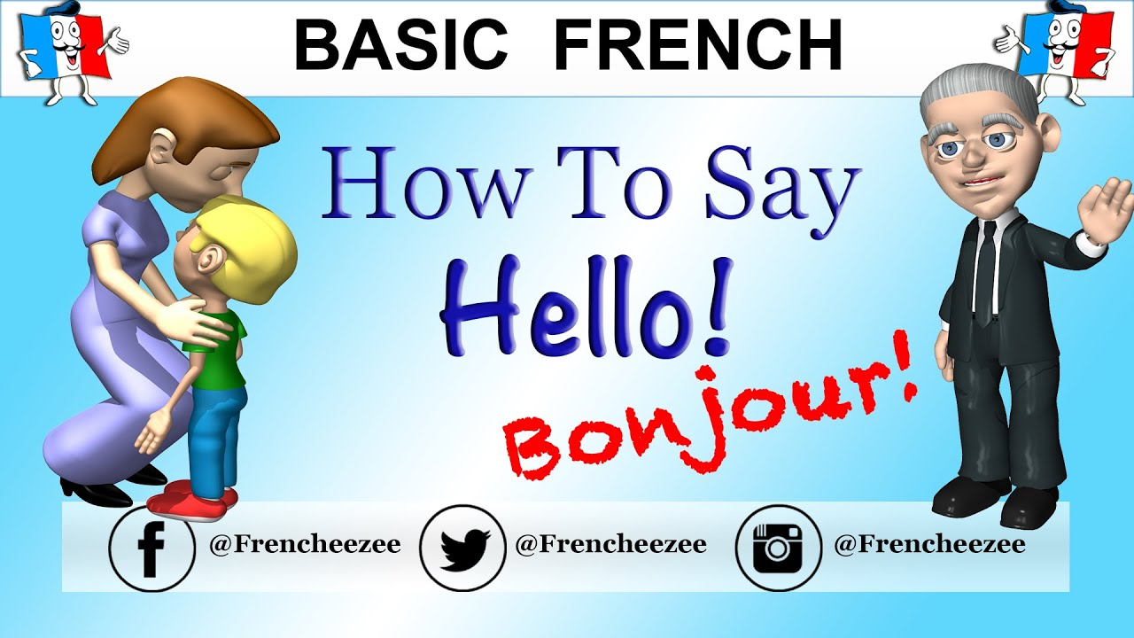 Good Morning Gay In French : Good morning hello in french youtube