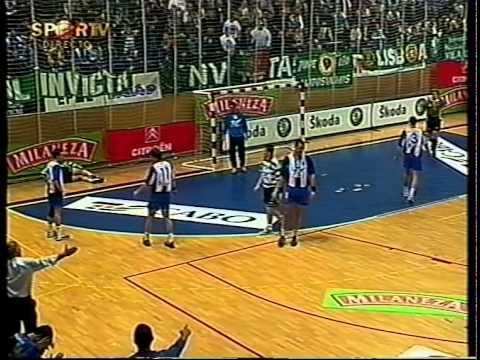 Andebol :: Fase Final - 2 Jogo :: Porto - 26 x Sporting - 25 de 2000/2001