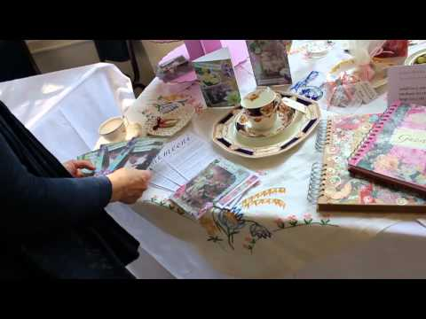 meeni @ Goldney Hall Wedding Fayre with a Vintage Twist